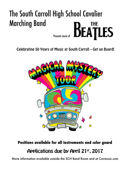 2017-2018 Cavalier Marching Band Application Deadline Extended