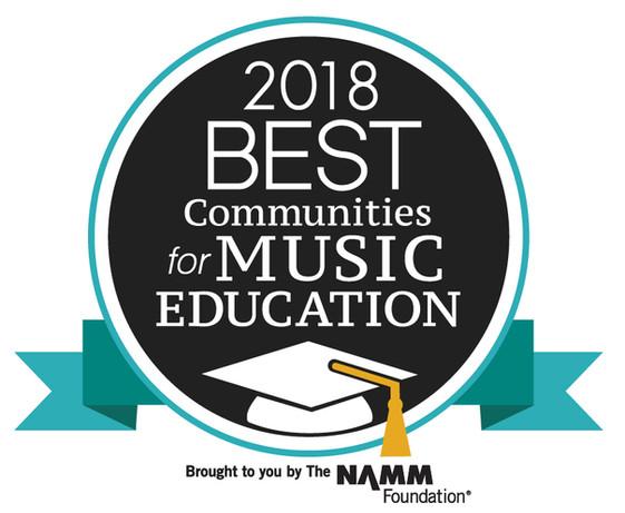 Carroll Named Best Community for Music Education