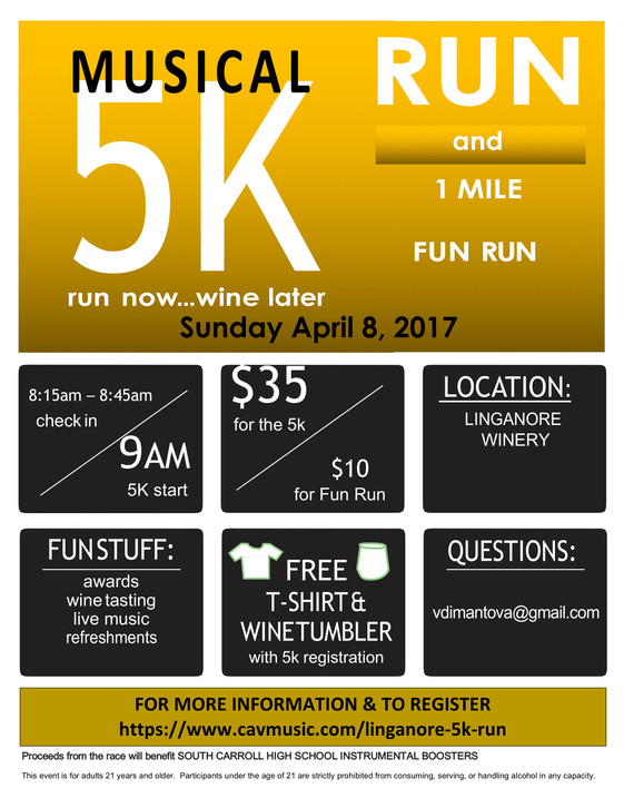 Linganore 5K - Your Help Needed!