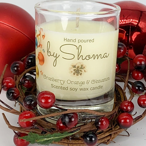 Cranberry Orange & Cinnamon Votive