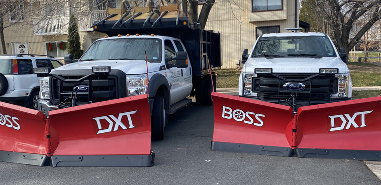 Plows Ready to push the Snow