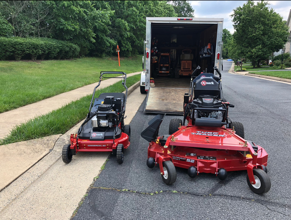 New Mowers added to our mowing fleet .