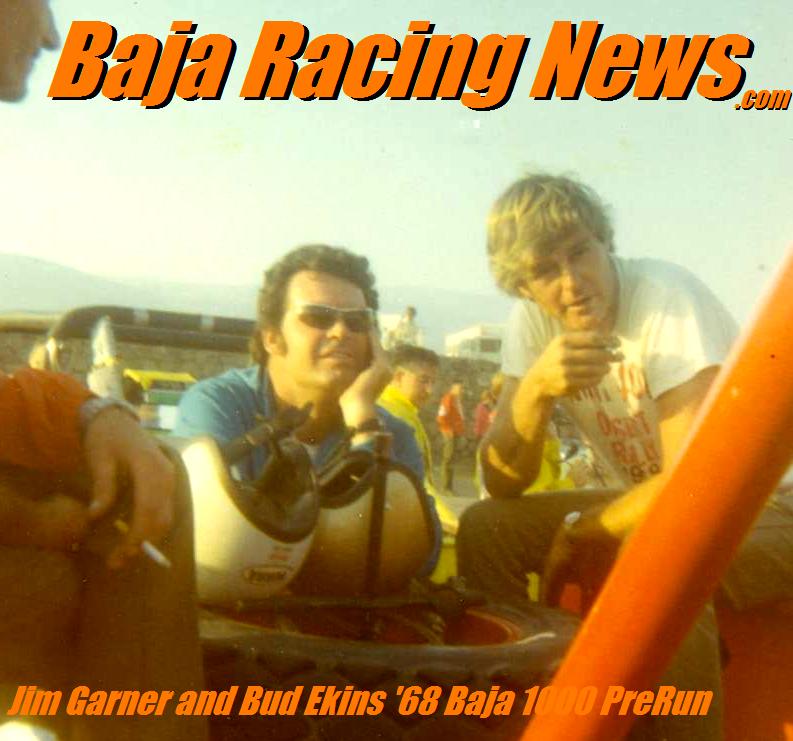 Jim Garner Bud Ekins 1968 Baja 1000 prer
