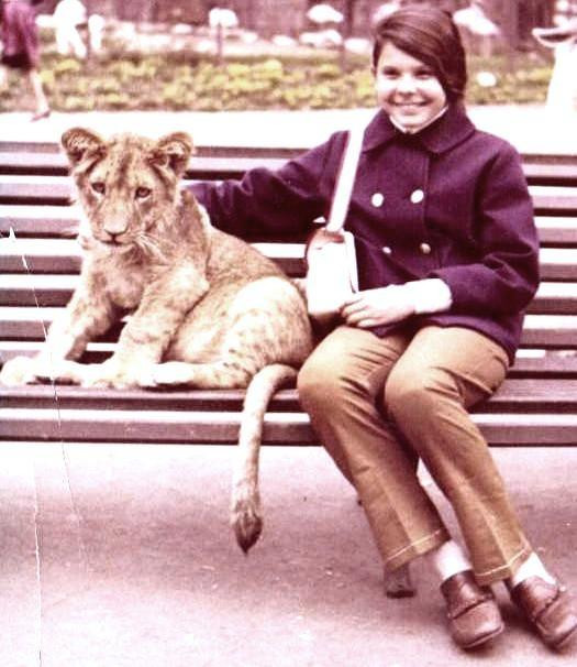 LION CUB AND GIGI IN ROME