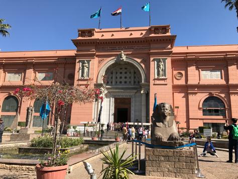 9- Quelques pièces parmi les milliers exposées au Musée égyptien du Caire