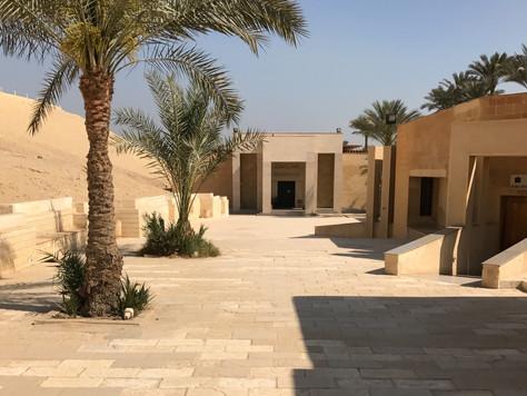 6- Un petit musée qui mérite une visite: le musée IMHOTEP de Saqqarah