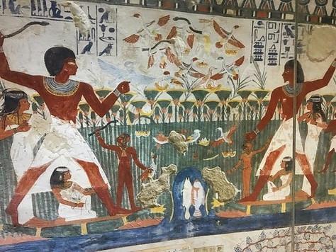 16- Les tombes de THÈBES ouest: La nécropole de                         CHEIKH ABD EL-GOURNA