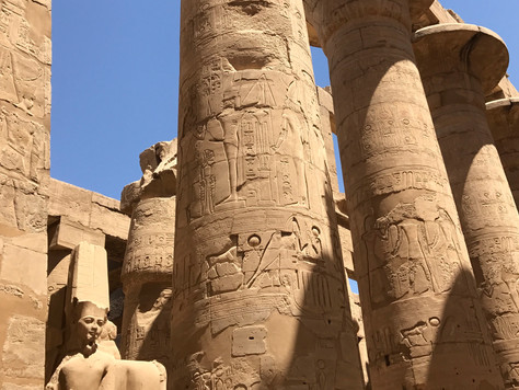 10- Le temple d'AMON de KARNAK: une merveille architecturale, un chantier de plus de 2000 ans
