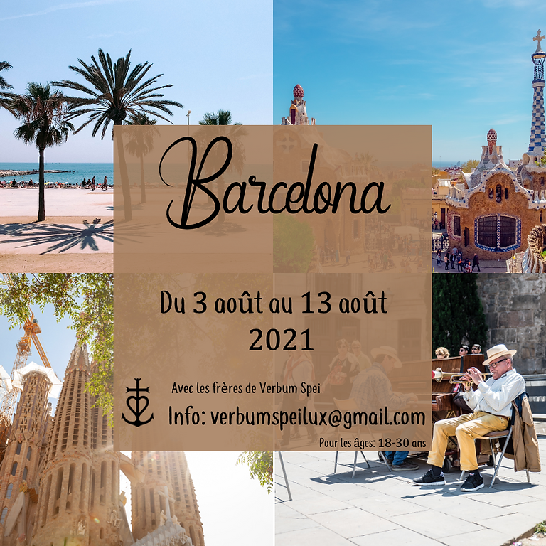 Barcelona 2021 : Camp été frères Verbum Spei