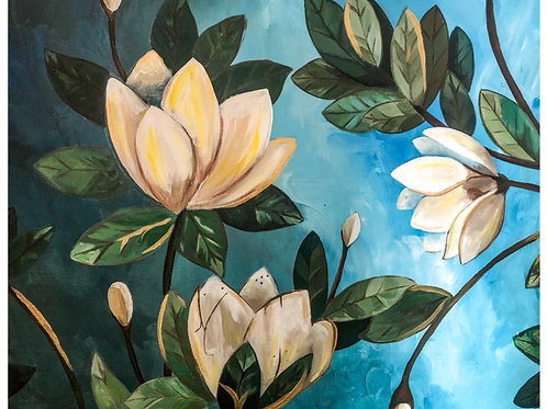 Magnolia Farm 16x20in {FRAMED}