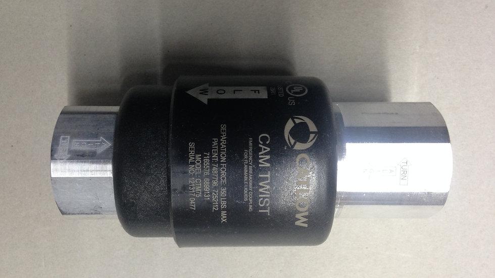 CTM-100 1in Catlow Magnetic Re Connectable Breakaway