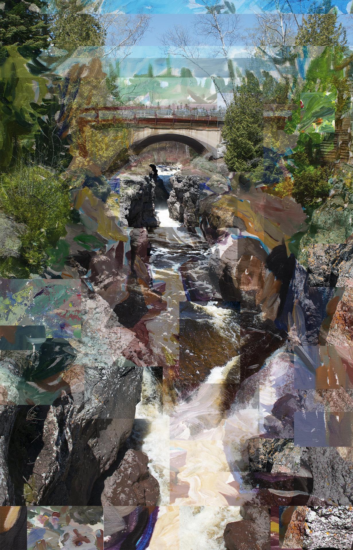 Temperance River Falls