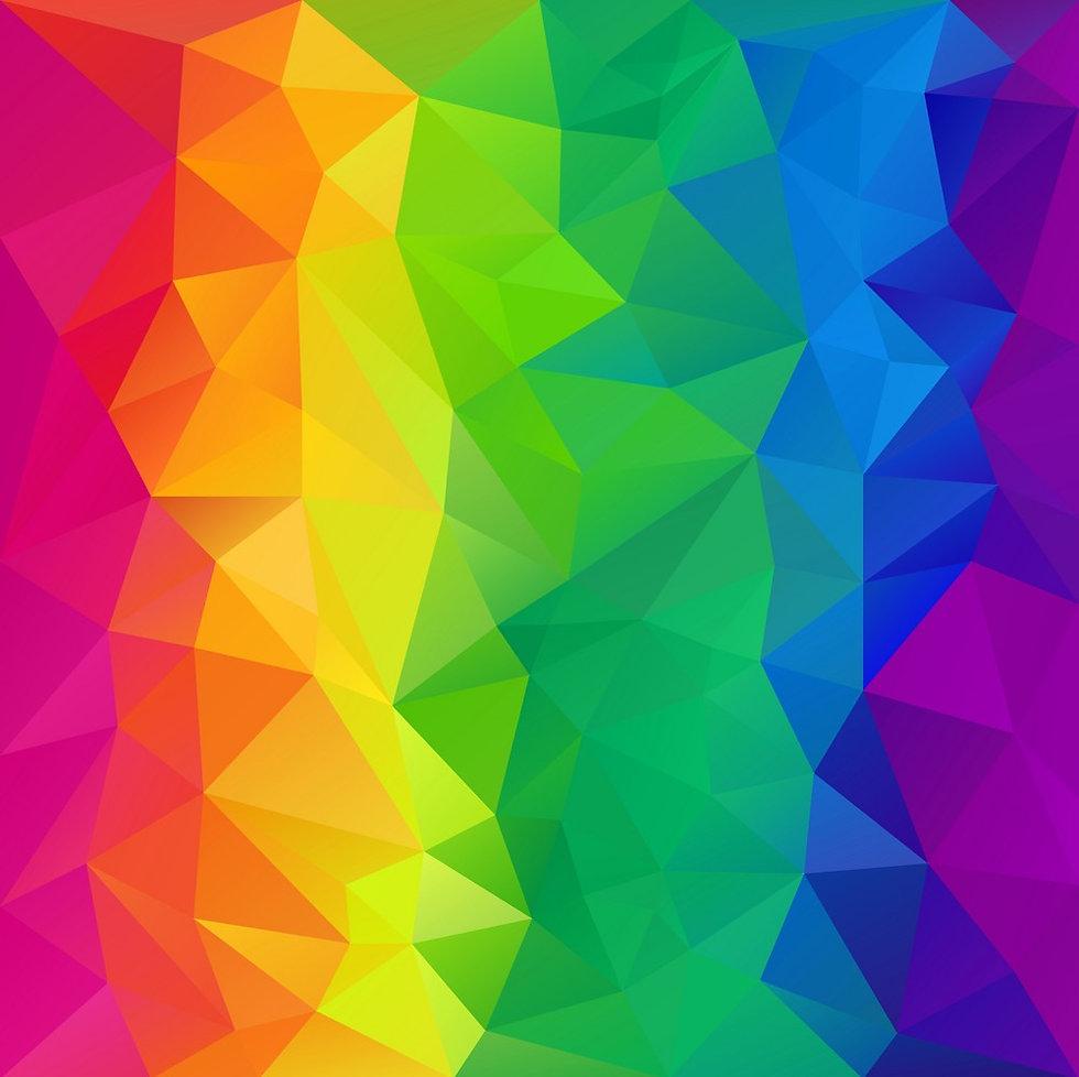 full-spectrum-rainbow-polygon-triangular
