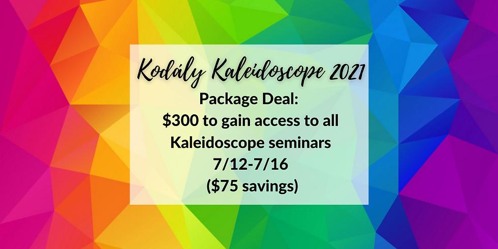 Kodály Kaleidoscope Package Deal