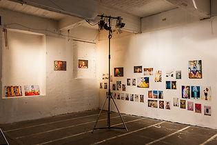 Beleuchtung Fotografieausstellung