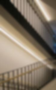 Treppenhausbeleuchtung - LED Linien