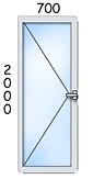 ал. врата 700/2000
