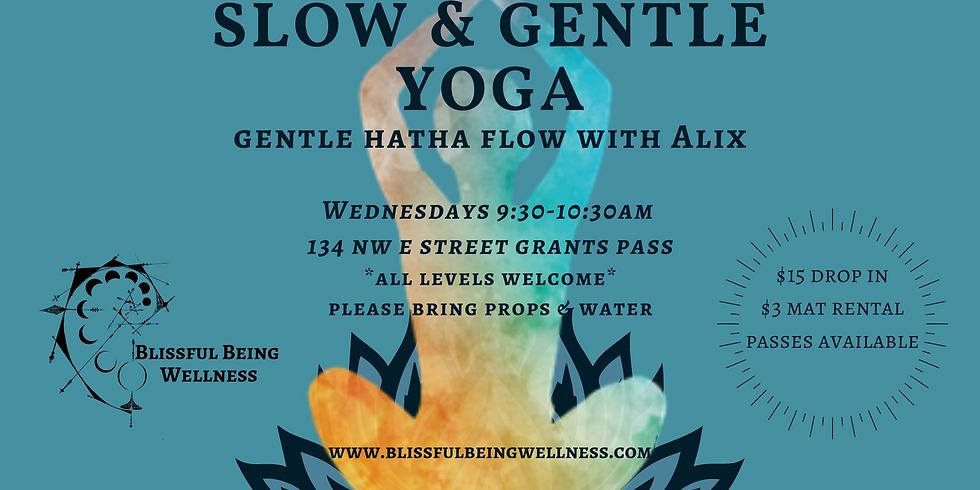 Slow & Gentle Yoga - Every WED AM