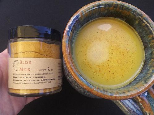 Bliss Milk | Golden Milk| Smoothie Boost| Tea | Nourish & Tonify | Vegan