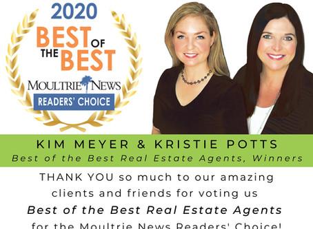 Best of Moultrie 2020 WINNERS! - Meyer Potts Properties