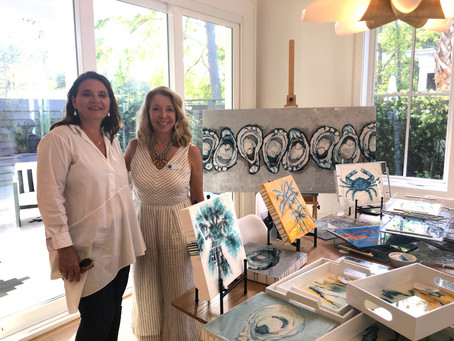 Local Artists showcase at Fulton Neighborhood