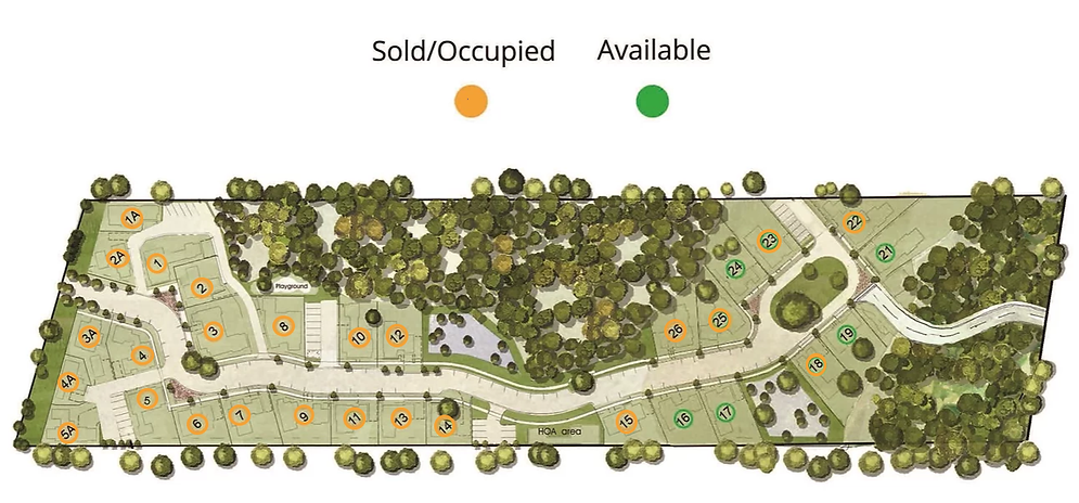 site plan current updated lot 23 sold.pn