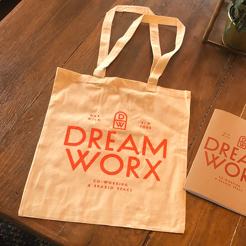 DreamWorx tote bag