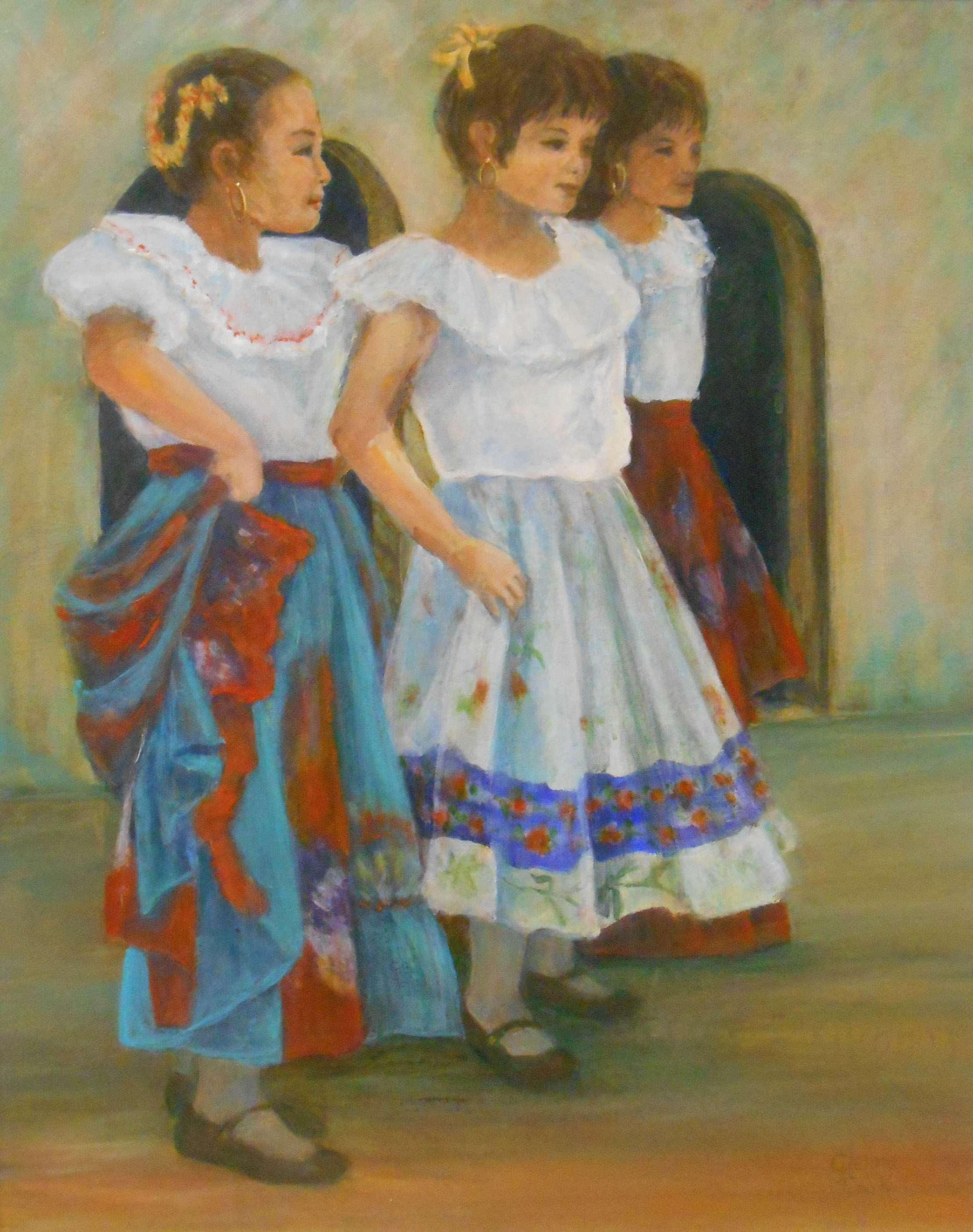 Three Girls in Mexico