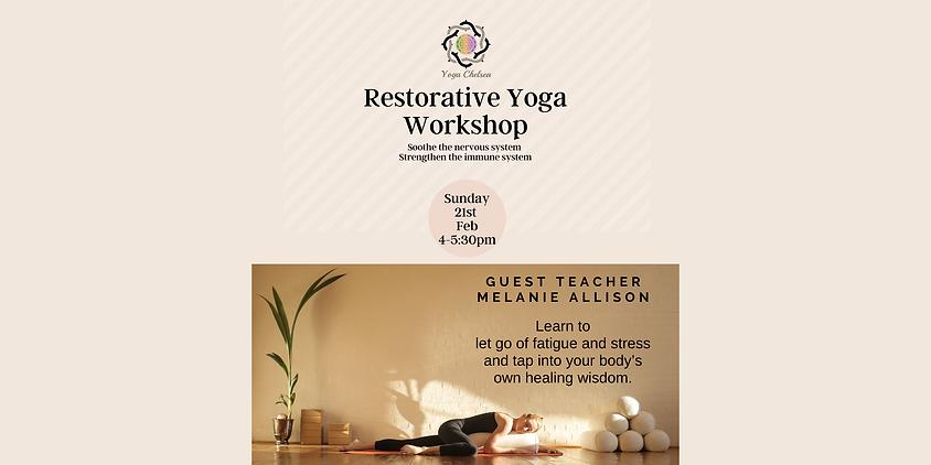 Copy of Copy of Restorative Yoga Worksho