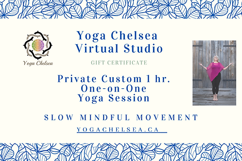 Private 1 hr.One-on-One Yoga Session