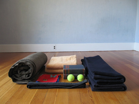 DIY Props, Chair Yoga Flow & Modifications for Tender Joints