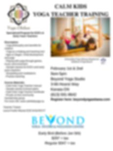 Copy of Calm Kids Yoga Teacher Training