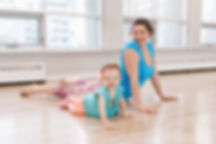 Canva - Mother and Daughter Doing Exerci