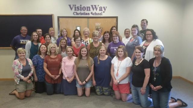 VCS Staff for 2017-2018 school year