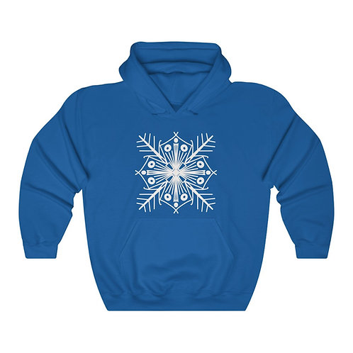 Snowflake Unisex Heavy Blend™ Hooded Sweatshirt
