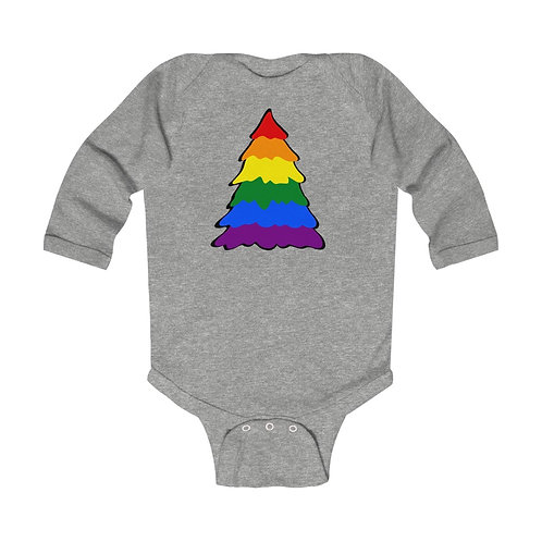 Rainbow Tree Infant Long Sleeve Bodysuit