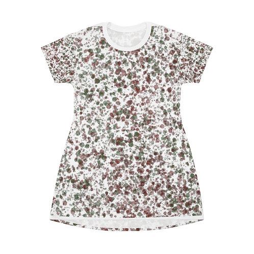 Splat Dress All Over Print T-Shirt Dress