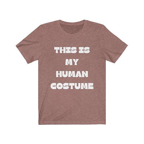 Adult Human Costume - Unisex Jersey Short Sleeve Tee