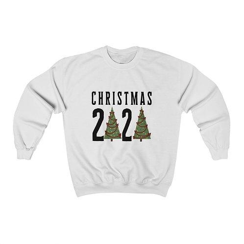 Christmas 2020 Tree Unisex Heavy Blend™ Crewneck Sweatshirt