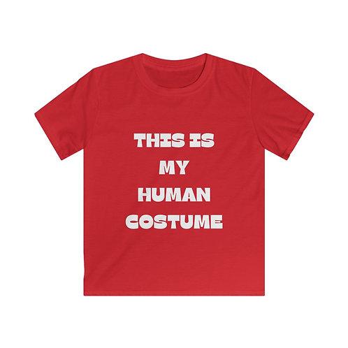 Kids Human Costume Softstyle Tee
