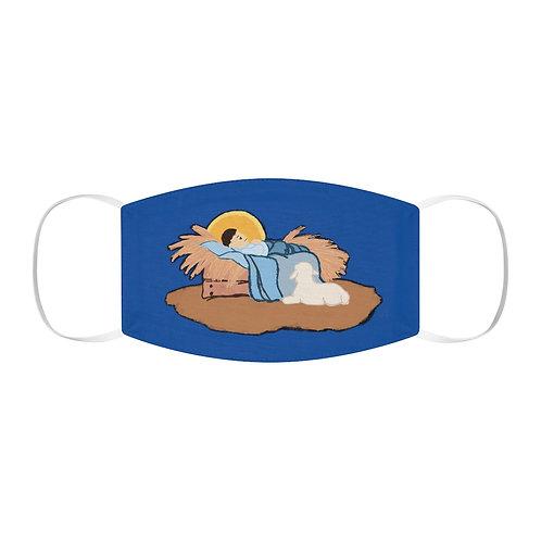 Baby Jesus Snug-Fit Polyester Face Mask