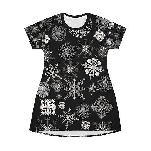 Snowflake T-Shirt Dress