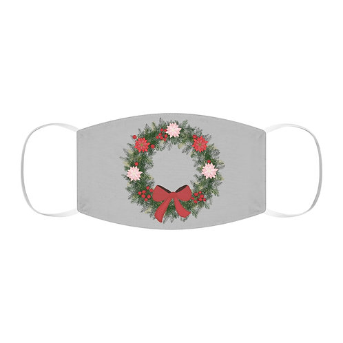 Wreath Snug-Fit Polyester Face Mask