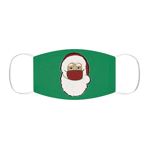 Santa with Mask Snug-Fit Polyester Face Mask