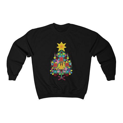 Vintage Tree Unisex Heavy Blend™ Crewneck Sweatshirt