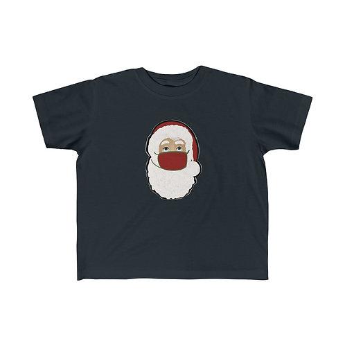Santa with Mask Kid's Fine Jersey Tee