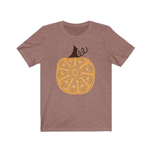 Adult Zen Pumpkin - Unisex Jersey Short Sleeve Tee