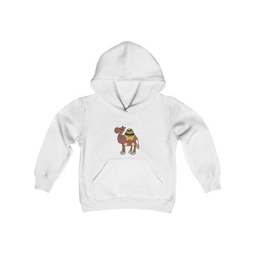 Camal Youth Heavy Blend Hooded Sweatshirt