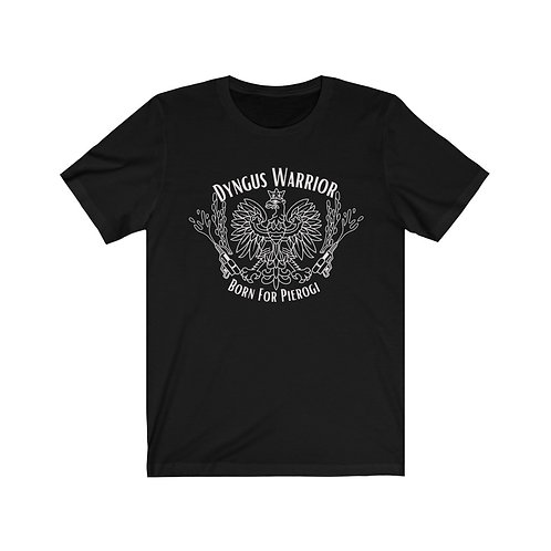 Copy of Unisex Jersey Short Sleeve Tee - Dyngus day warrior white ink
