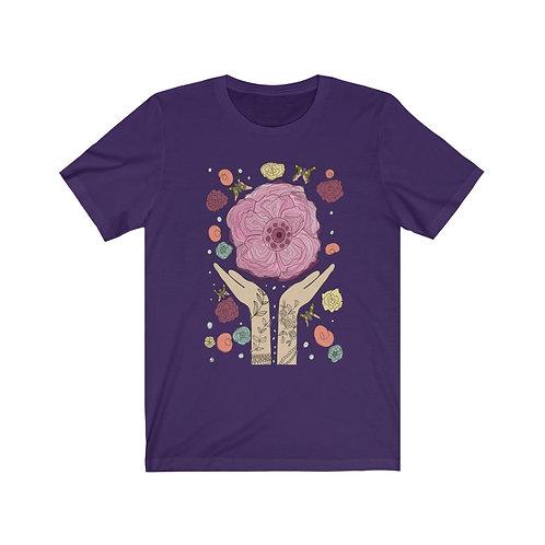 Queen Of The Flowers Unisex Jersey Short Sleeve Tee